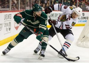 The Minnesota Wild and Chicago Blackhawks will face off in February for the Coors Light Stadium Series game. (Brace Hemmelgarn-USA TODAY Sports)