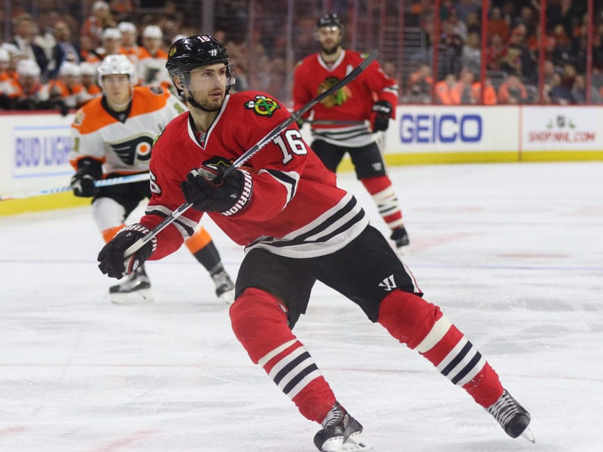 Blackhawks Trade Marcus Kruger to Golden Knights