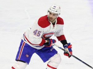 Montreal Canadiens defenseman Mark Barberio