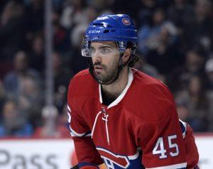 Montreal Canadiens defenseman Mark Barberio