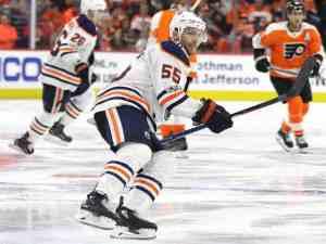 Mark Letestu Oilers