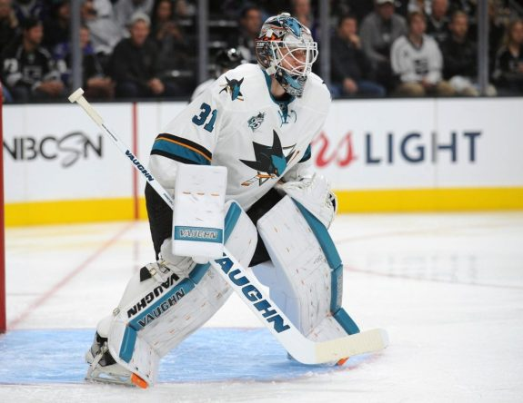Martin Jones, San Jose Sharks