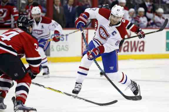 Canadiens captain Max Pacioretty