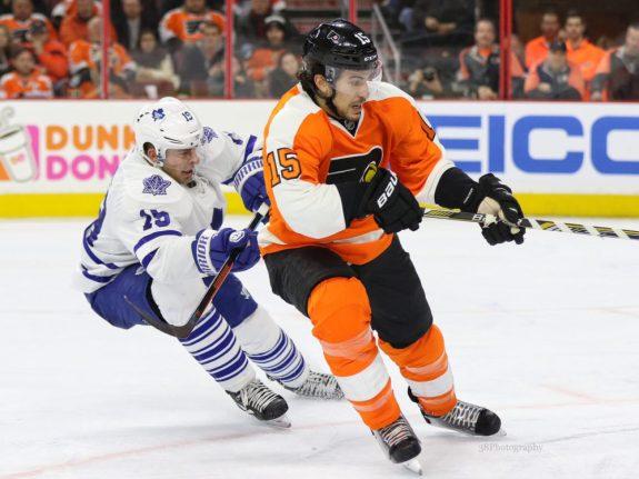 Philadelphia Flyers defenseman Michael Del Zotto.