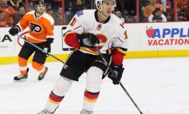 Flames Sign Backlund to Contract Extension