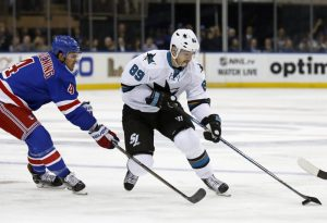 Mikkel Boedker has provided speed but no scoring punch for Sharks