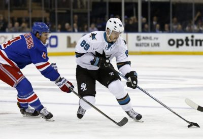 (Adam Hunger-USA TODAY Sports) Mikkel Boedker has probably been my team's biggest disappointment to start the season. I bought him expecting big things in reuniting with his junior coach Pete DeBoer in San Jose, but Boedker has only produced two goals and somehow no assists in 22 games thus far.