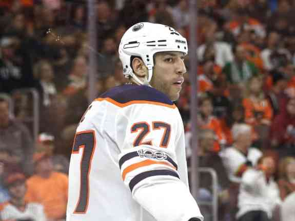 Milan Lucic Oilers
