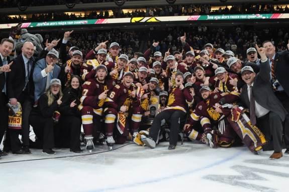 Minnesota Duluth Bulldogs Frozen Four 2018