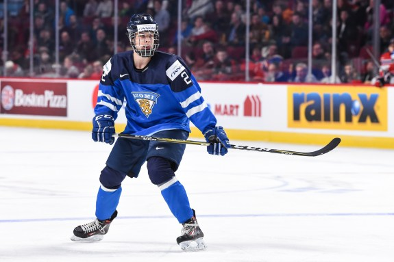 Miro Heiskanen, NHL, NHL Entry Draft