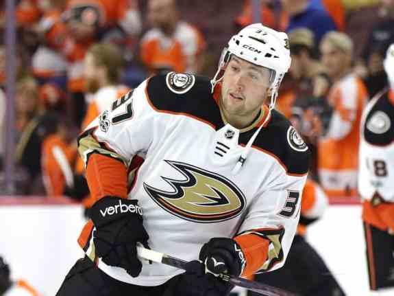 Nick Ritchie Ducks