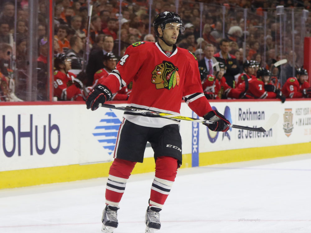 Blackhawks get Saad back in trade with Blue Jackets