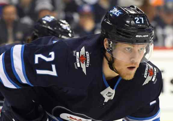 Winnipeg Jets Left Wing Nikolaj Ehlers
