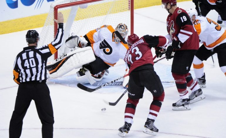 History of Flyers' Ineptitude in Net