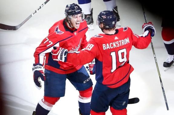 T.J. Oshie Nicklas Backstrom