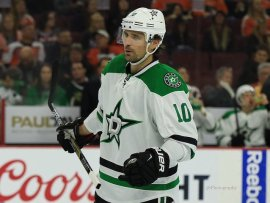 The acquisition of Patrick Sharp immediately put the Stars in win-now mode.(Amy Irvin / The Hockey Writers)
