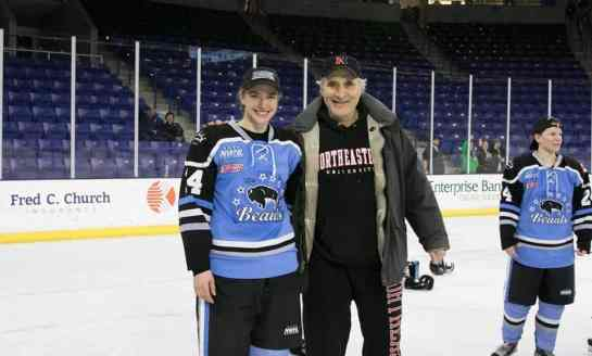 Buffalo's First Hockey Family: Hayley and Peter Scamurra