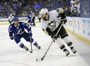 Kessel played primarily on the third line, despite scoring plenty of goals (Kim Klement-USA TODAY Sports)