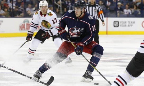3 Columbus Blue Jackets Training Camp Standouts