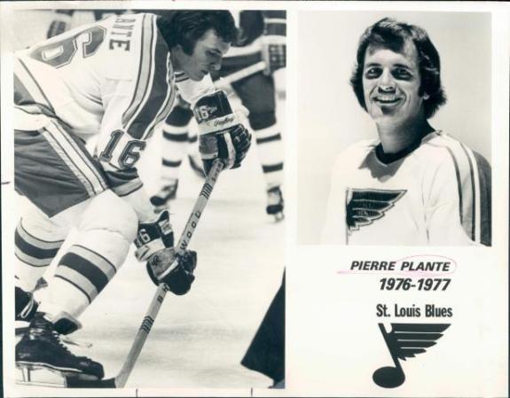 Pierre Plante St. Louis Blues