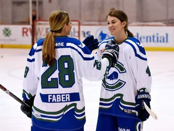 Sam Faber and Anya Battaglino Connecticut Whale