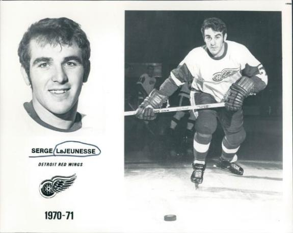 Serge Lajeunesse Detroit Red Wings