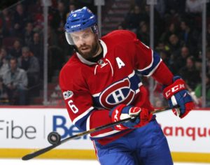 Montreal Canadiens defenseman Shea Weber