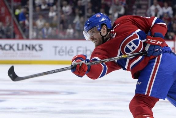 Montreal Canadiens defenseman Shea Weber