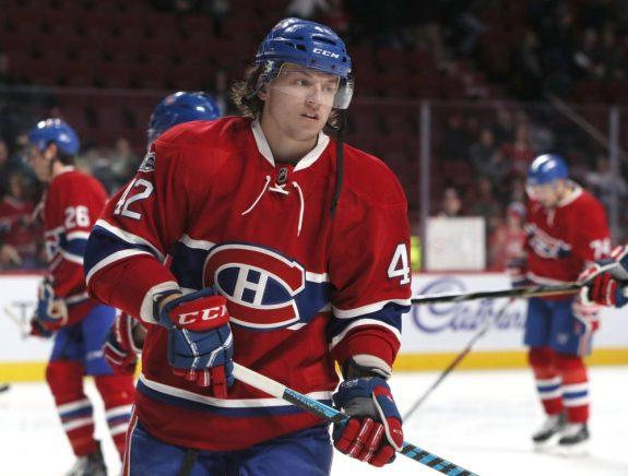 Ex-Montreal Canadiens forward Sven Andrighetto