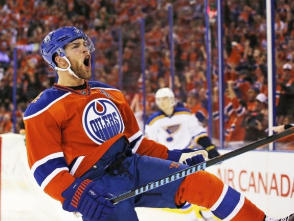 Taylor Hall trade for Adam Larsson