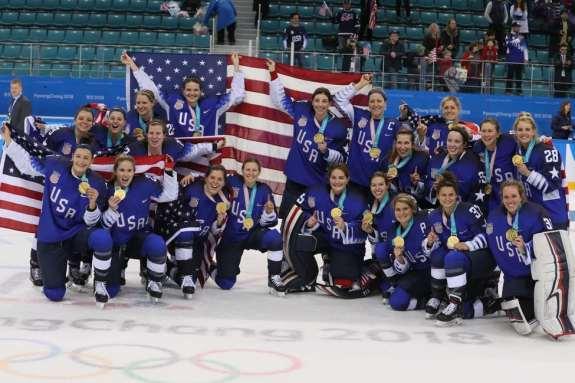 Team USA Women 2018 Winter Olympics