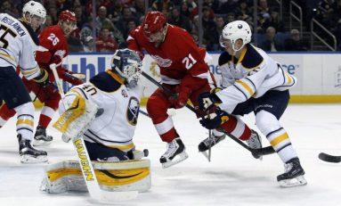 Preview: Streaking Red Wings Visit Sabres