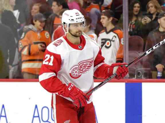 Former Detroit Red Wings forward Tomas Tatar was traded to the Vegas Golden Knights by GM Ken Holland.
