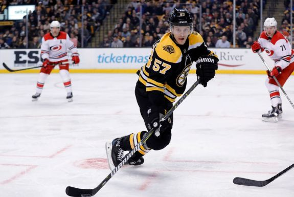 Bruins winger Tommy Wingels