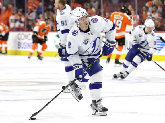 Tyler Johnson #9, Tampa Bay Lightning