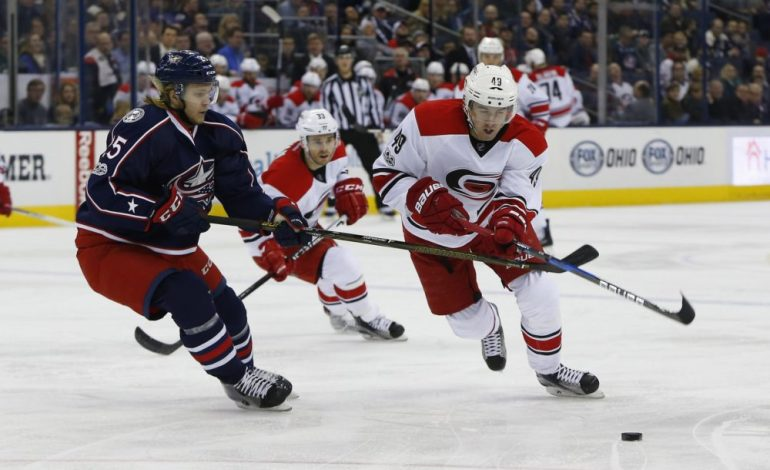 Preview: Hurricanes Roll Into Columbus For 2nd Time This Week