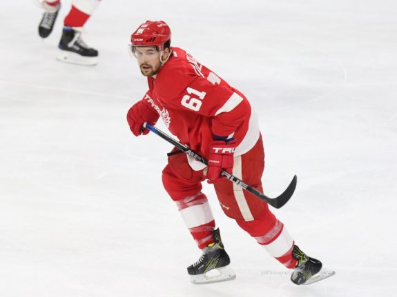 Ex-Detroit Red Wings defenseman Xavier Ouellet