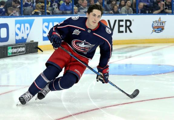 Zach Werenski Blue Jackets