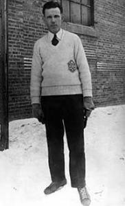 Clarence Campbell as a CAHA referee.