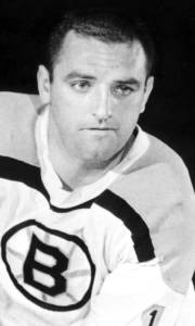 Forbes Kennedy interfered with Leaf goalie Terry Sawchuk on Bruins winning goal.
