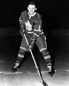Wally Boyer scored his first NHL goal.