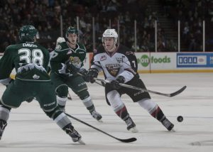 Tyler Benson of the Vancouver Giants