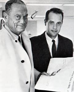 Sidney Salomon Jr,. and son Sidney III.