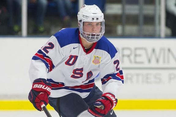 Kieffer Bellows of the U.S. National Development Team