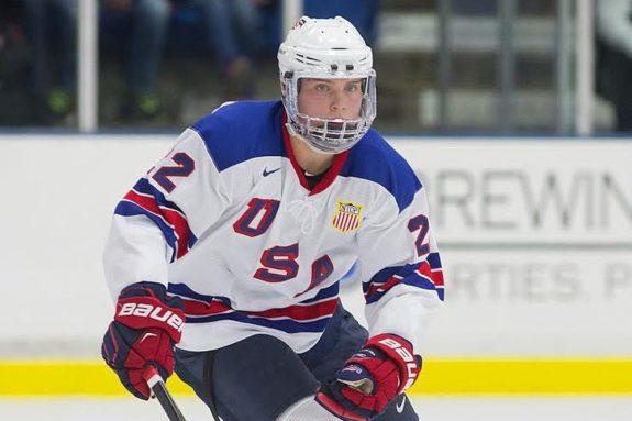 Kieffer Bellows of the U.S. National Development Team