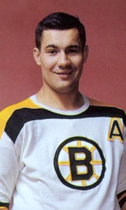 John Bucyk - all the offence Bruins needed.