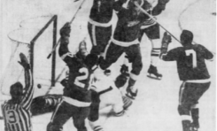 50 Years Ago in Hockey: Wings Oust Hawks in Six
