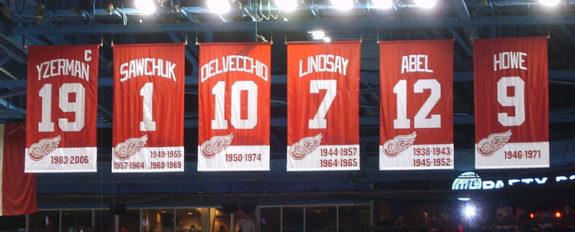 Detroit Red Wings Joe Louis Arena.