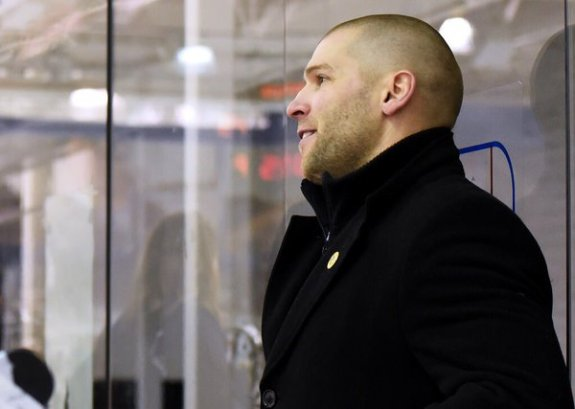 Chad Wiseman will be both coach and general manager for the Riveters during the 2016-17 season (Photo Credit: NWHL)