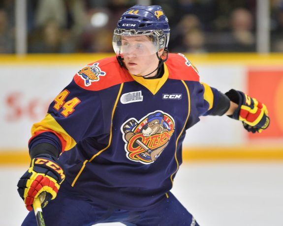 Travis Dermott, OHL, Erie Otters